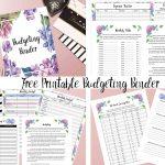 Free Printable Budgeting Binder: 15+ Pages! | Printable Budget Binder Worksheets