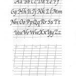 Free Printable Calligraphy Alphabet Practice Sheets | Scrapbooking | Printable Calligraphy Practice Worksheets