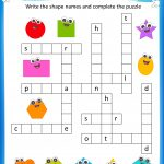 Free Printable Crosswords With Top 10 Benefits For Our Kids | Free Printable Crossword Puzzle Worksheets