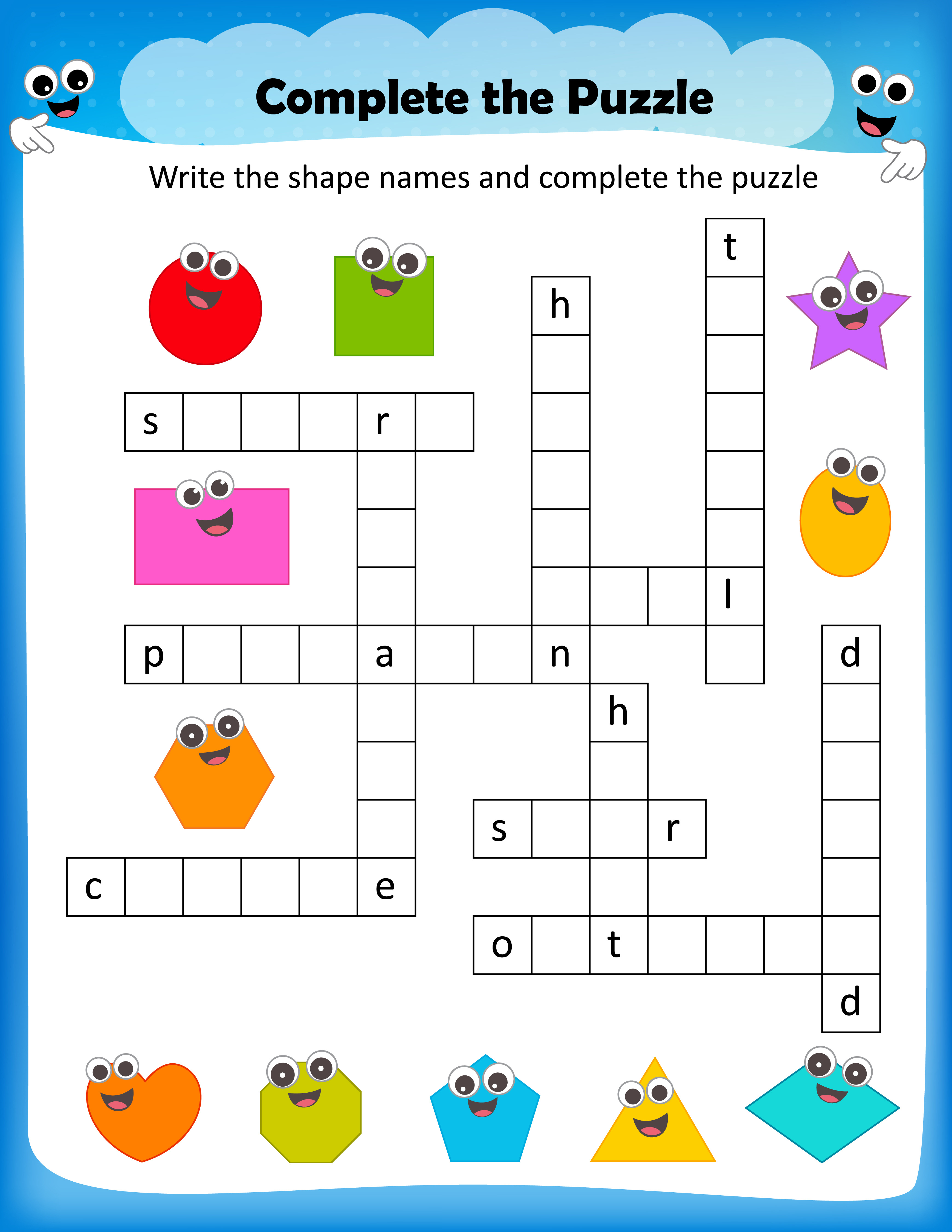 Free Printable Crosswords With Top 10 Benefits For Our Kids | Free Printable Crossword Puzzle Worksheets