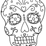 Free Printable Day Of The Dead Coloring Pages   Best Coloring Pages | Free Printable Day Of The Dead Worksheets