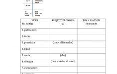 Free Printable Elementary Spanish Worksheets