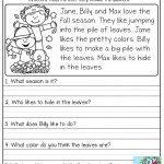Free Printable English Comprehension Worksheets For Grade 4 | Free | Free Printable English Comprehension Worksheets For Grade 4