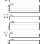 Free Printable Goal Setting Worksheet   Planner … | Education | Printable Goal Setting Worksheet For High School Students