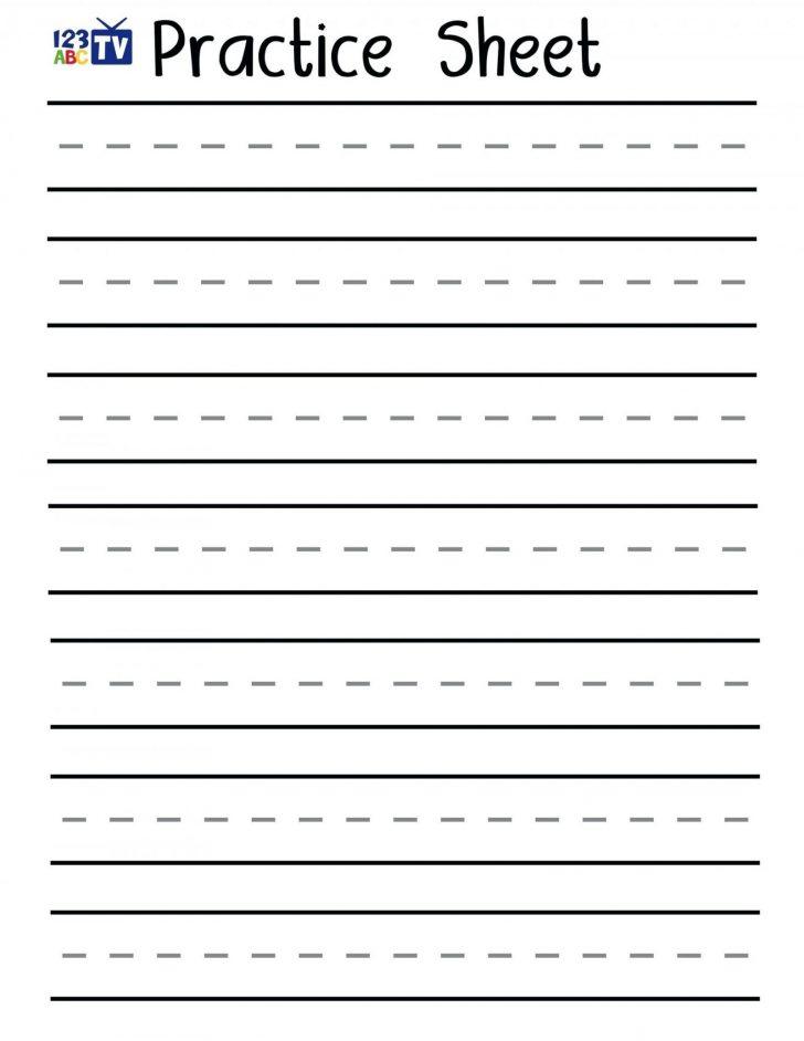 Free Printable Handwriting Worksheets For Kids
