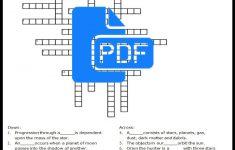Printable Science Worksheets