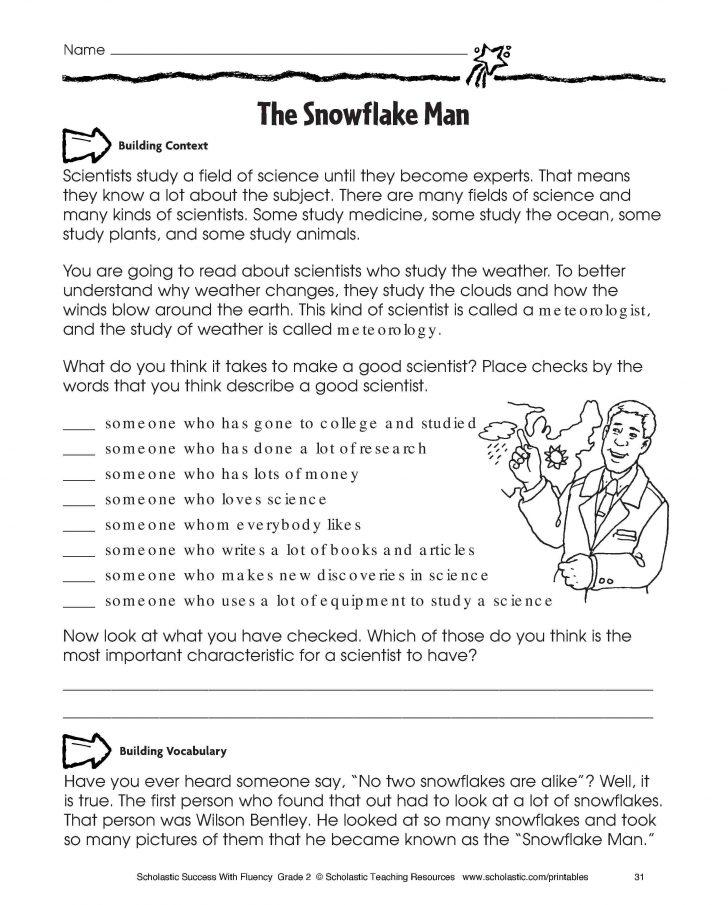 Free Printable High School Science Worksheets