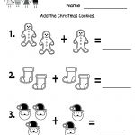 Free Printable Holiday Worksheets | Free Christmas Cookies Worksheet | Winter Holidays Worksheets Printables