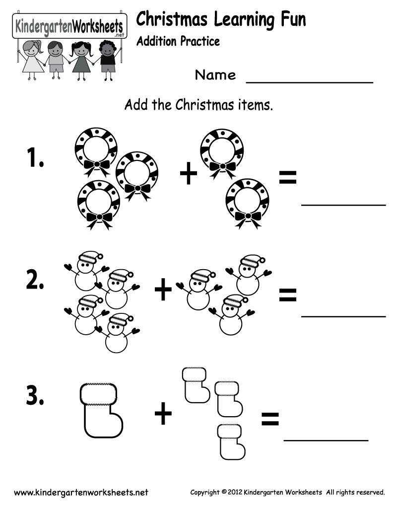 Free Printable Holiday Worksheets | Free Printable Kindergarten | Christmas Fun Worksheets Printable Free