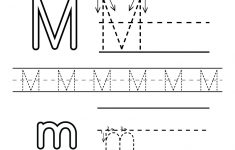 Letter M Printable Worksheets