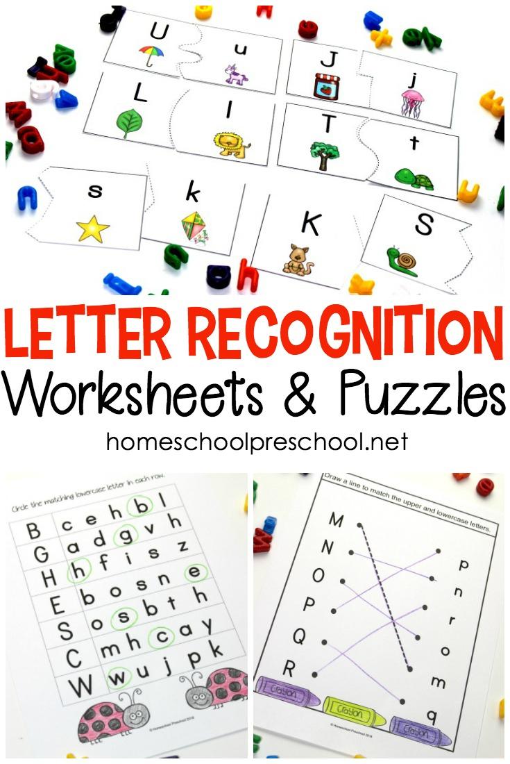 Free Printable Letter Recognition Worksheets And Puzzles - Money   Free Printable Letter Recognition Worksheets