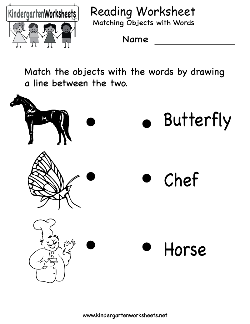 Free Printable Letter Worksheets Kindergarteners | Reading Worksheet | Free Printable English Reading Worksheets For Kindergarten