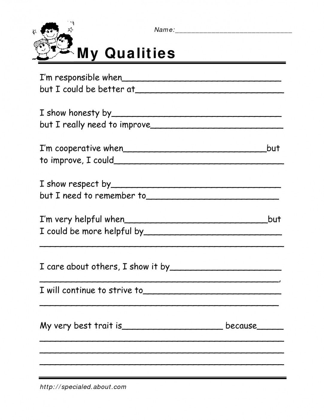 Free Printable Life Skills Worksheets | Lostranquillos - Free | Free Printable Life Skills Worksheets For Adults