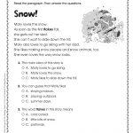 Free Printable Reading Comprehension Worksheets 3Rd Grade To   Free | Free Printable Grade 1 Reading Comprehension Worksheets