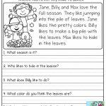 Free Printable Reading Comprehension Worksheets 3Rd Grade To Print   3Rd Grade English Worksheets Printable