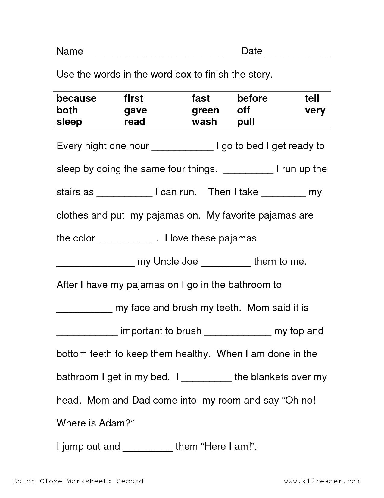 Free Printable Reading Comprehension Worksheets 3Rd Grade To Print | Printable Reading Comprehension Worksheets