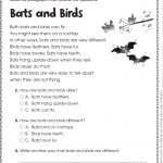 Free Printable Reading Comprehension Worksheets For Kindergarten | Free Printable Reading Comprehension Worksheets For 3Rd Grade