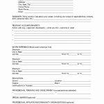 Free Printable Resume Forms Or 10 Best Of Blank Resume Template | Printable Resume Builder Worksheet