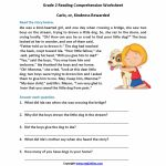 Free Printable Second Grade Reading Comprehension Worksheets | Printable Reading Worksheets