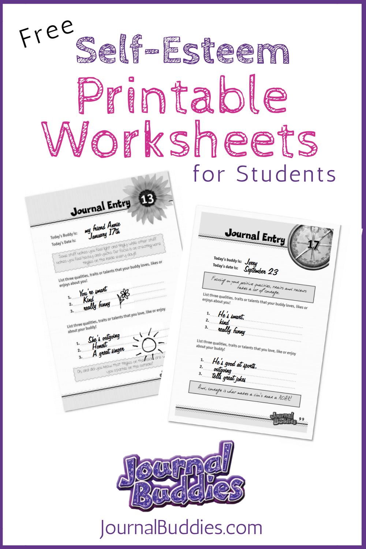 Free Printable Self Esteem Worksheet For Kids | Creative Teaching | Self Esteem Building Worksheets Printable