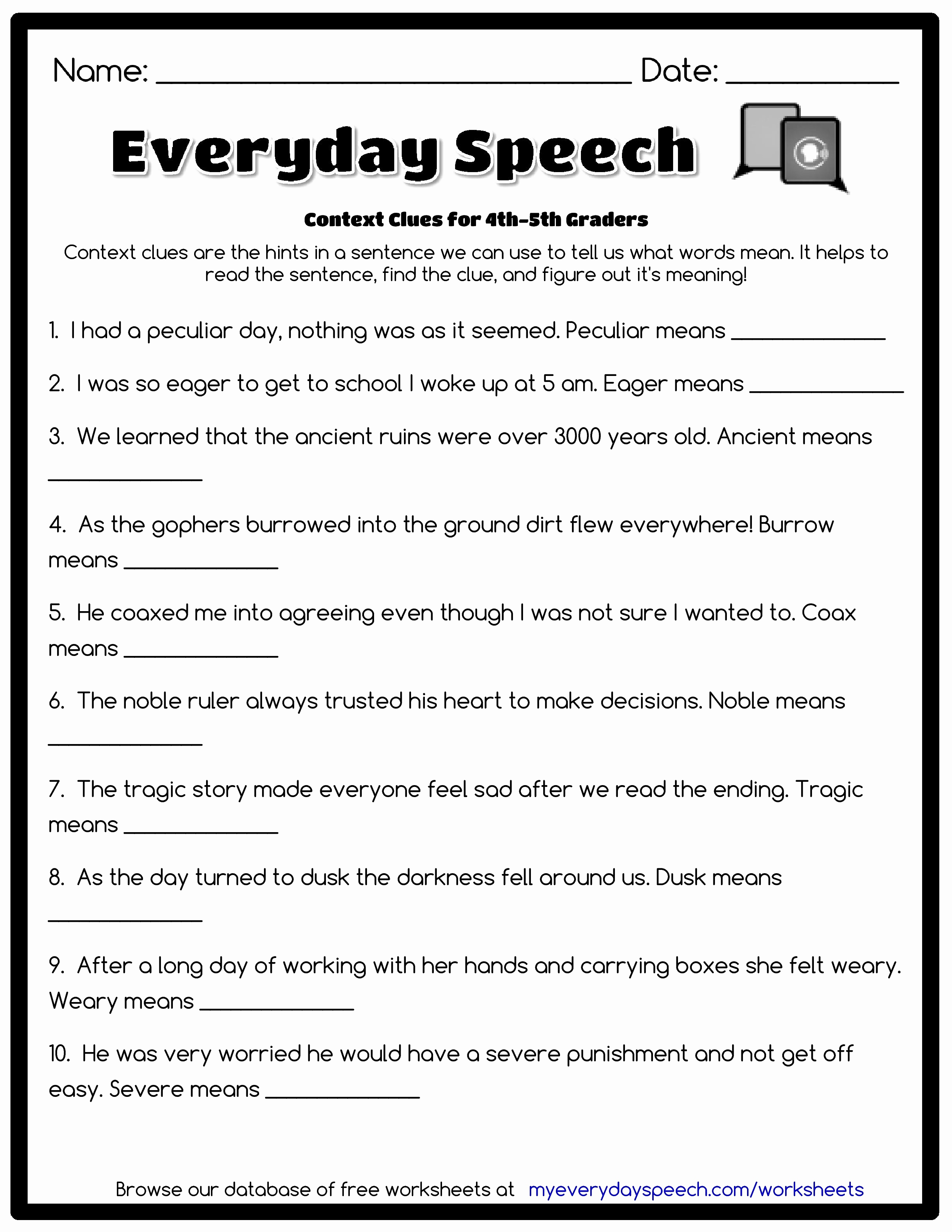 Free Printable Third Grade Grammar Worksheets | Free Printables | 3Rd Grade Grammar Worksheets Printable