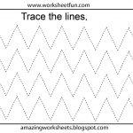 Free Printable Tracing Worksheets Preschool | Preschool Worksheets | Fine Motor Skills Worksheets And Printables