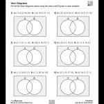 Free, Printable Venn Diagrams Worksheet – These Are Good For | Free Printable Venn Diagram Math Worksheets