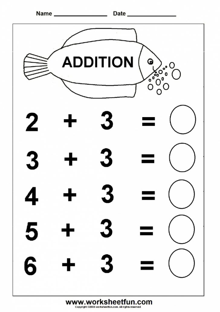Free Printable Worksheets For Kids