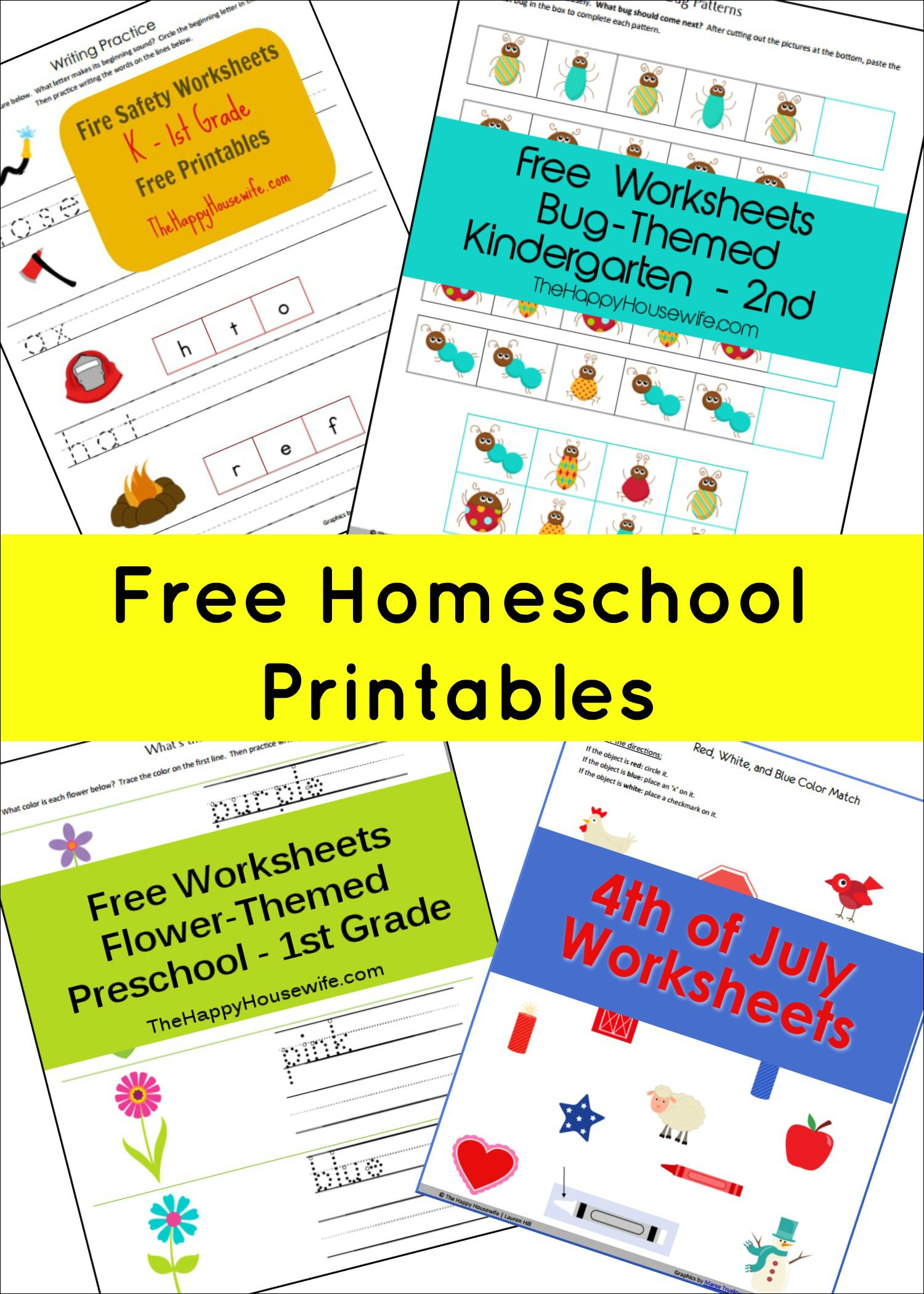 Free Printable Worksheets | Free Printables | Homeschool, Homeschool | Free Homeschool Printable Worksheets