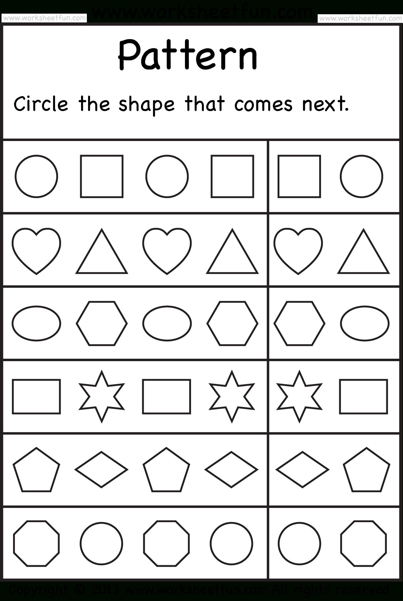 Free Printable Worksheets – Worksheetfun / Free Printable - Free | Free Printable Sequencing Worksheets For Kindergarten