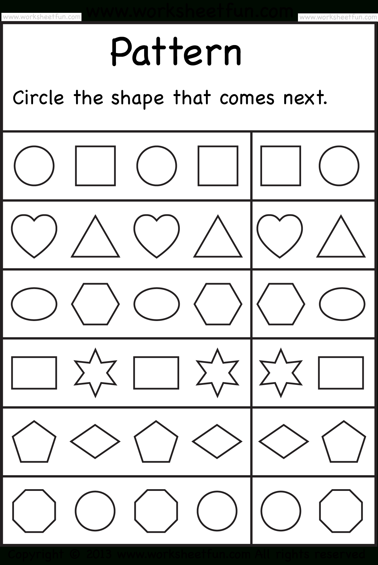 Free Printable Worksheets – Worksheetfun / Free Printable | Free Printable Worksheets For Kindergarten