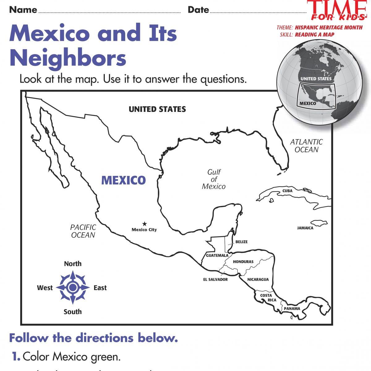 Free Printables For Hispanic Heritage Month | Time For Kids | Best | Hispanic Heritage Month Printable Worksheets