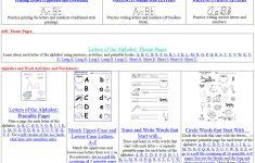 Printable Handwriting Worksheets For Kindergarten