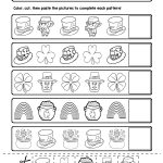 Free St. Patrick's Day Pattern Worksheets | My Tpt Store | Pattern | Free Printable St Patrick Day Worksheets