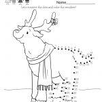 Fun Christmas Worksheet   Free Kindergarten Holiday Worksheet For Kids | Christmas Worksheets Printables