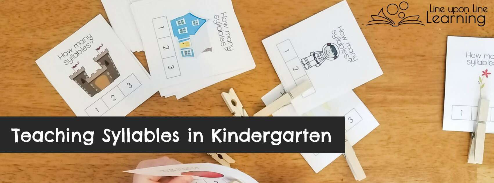 Fun Kindergarten Syllable Activities Including A Free Valentine's | Free Printable Syllable Worksheets For Kindergarten