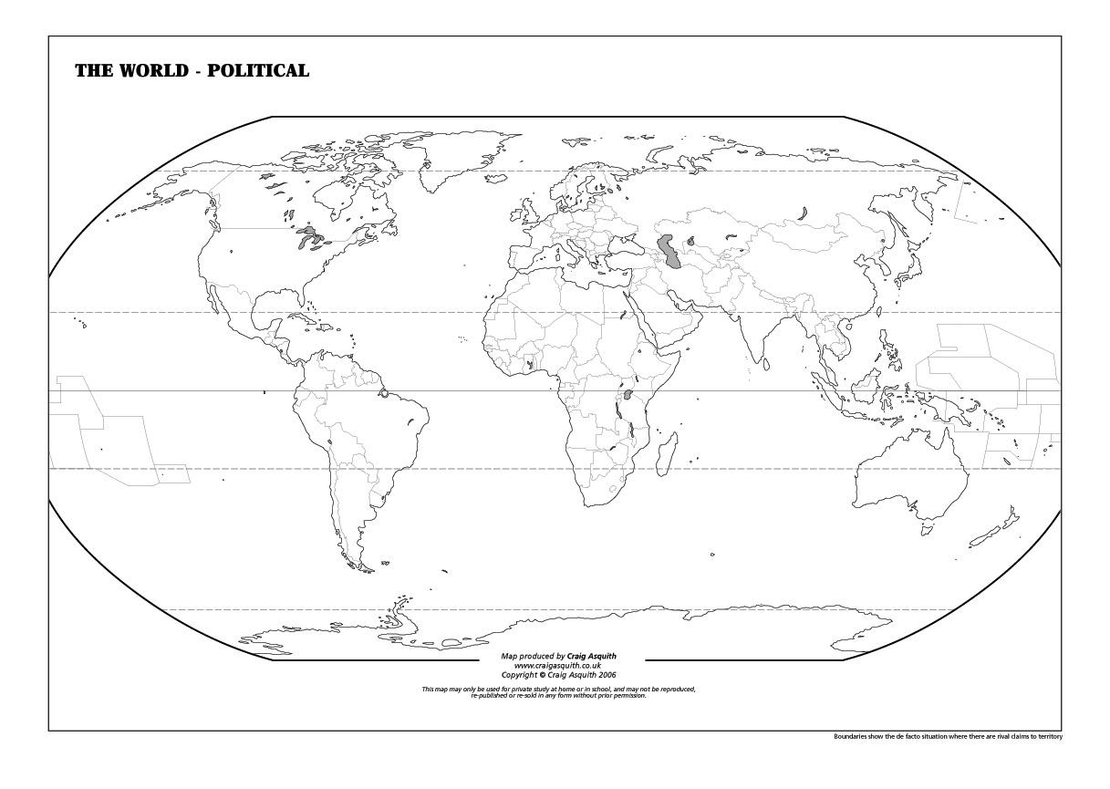 Geography Worksheet: New 591 Geography Worksheet World Map | Free Printable World Map Worksheets