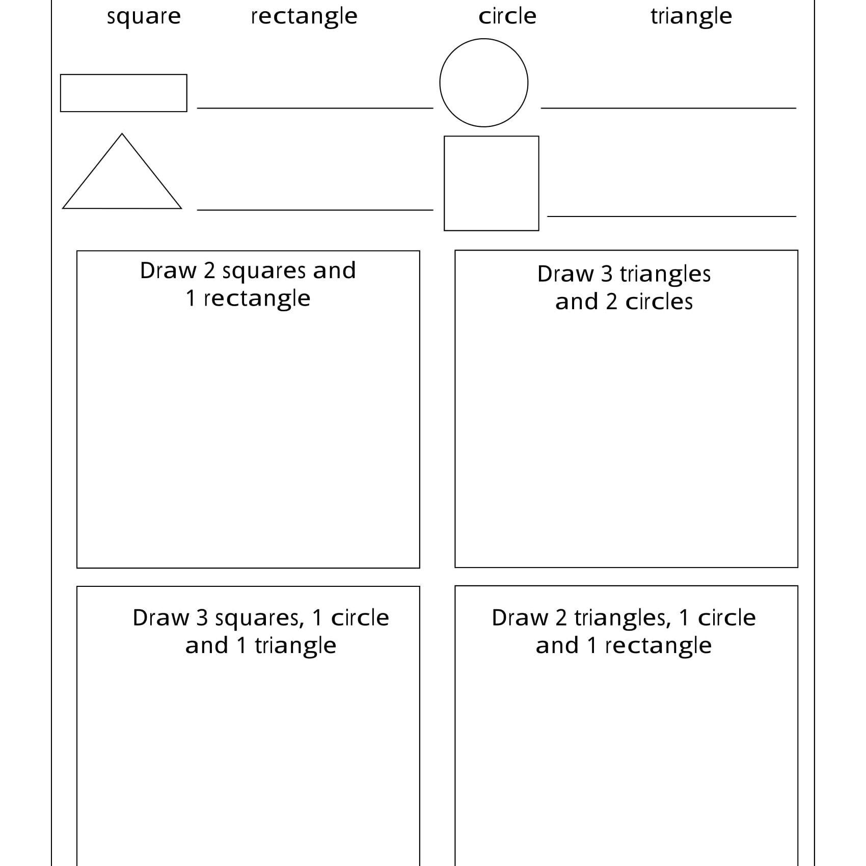 Geometry Worksheets For Students In 1St Grade | Free Printable Social Studies Worksheets For 1St Grade