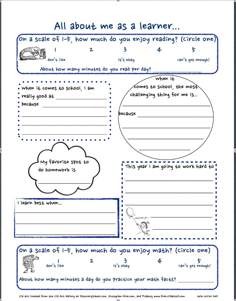 Getting To Know You Free Worksheet For The First Day Of School. All | Printable Getting To Know You Worksheets