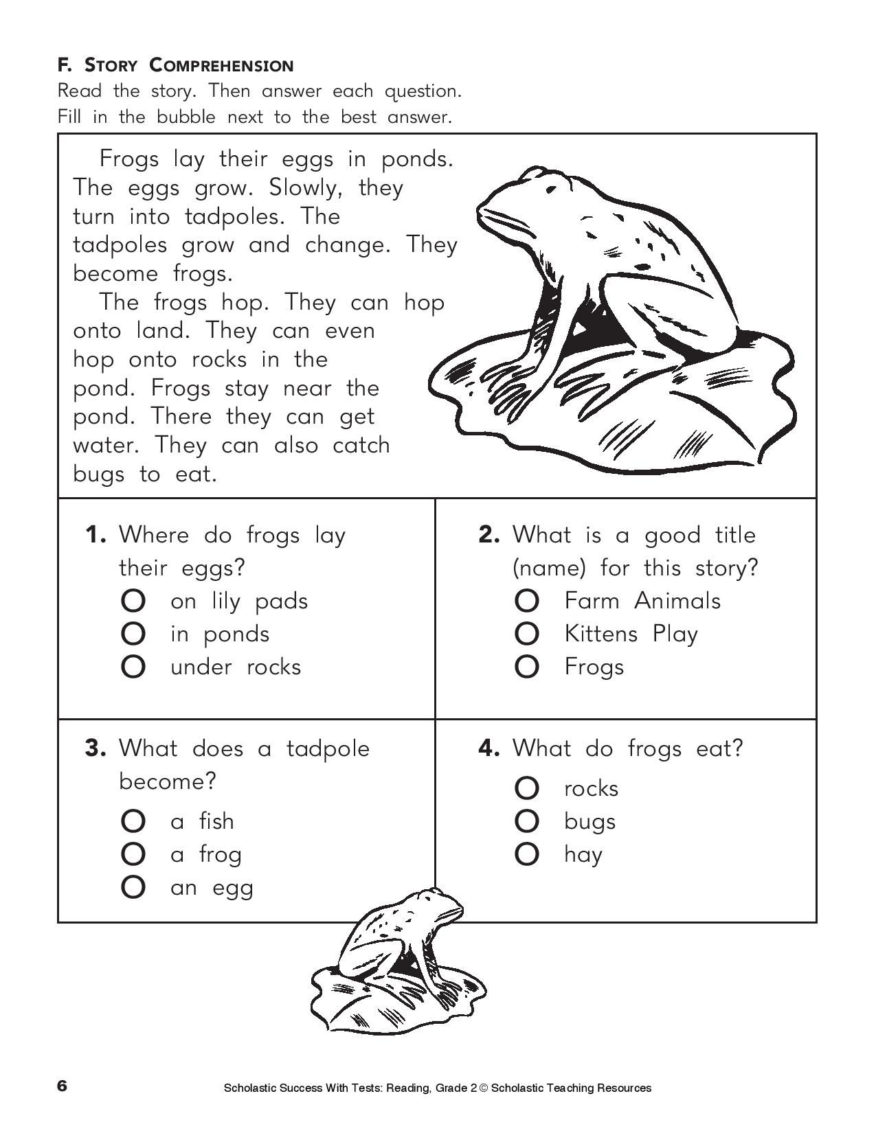 Give Your Child This Printable Reading Practice Test On Phonics | Growing And Changing Printable Worksheets
