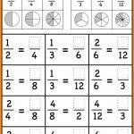 Grade 3Rd Fractions Worksheets Image Free Printable Comparing   Free | Free Printable First Grade Fraction Worksheets