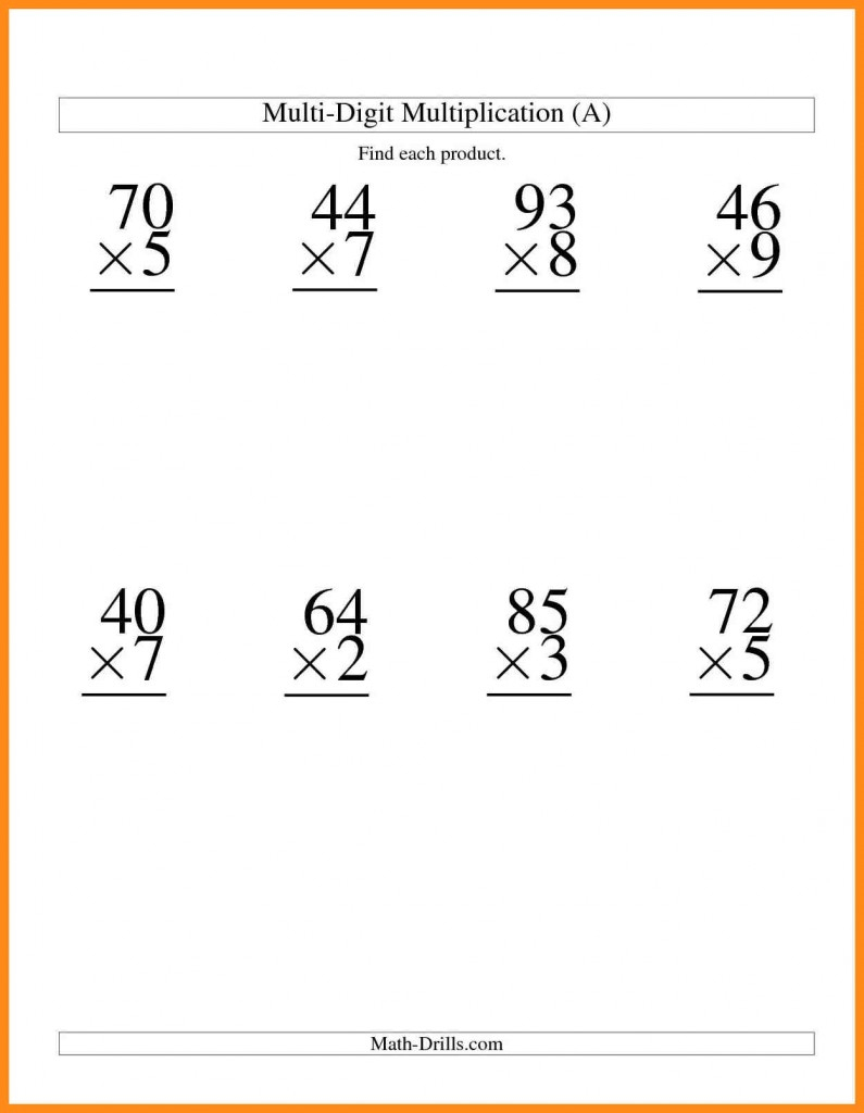 Grade 4 Natural Science Worksheets Free - Two Digitone Digit | Free Printable Science Worksheets For 2Nd Grade