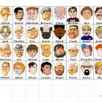 Guess Who   Boys Worksheet   Free Esl Printable Worksheets Made | Guess Who Printable Worksheets