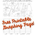 Halloween Graphing Page (Kindergarten, First Grade) | Squarehead | Free Printable Graph Art Worksheets