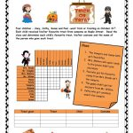 Halloween Logic Puzzle Worksheet   Free Esl Printable Worksheets | Logic Puzzles Printable Worksheets