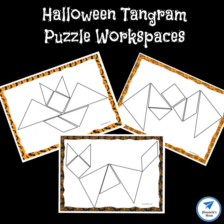 Printable Tangram Worksheets
