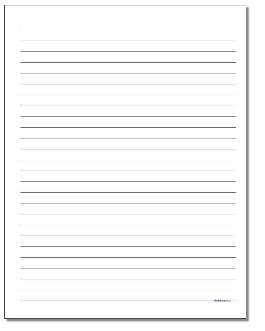 Handwriting Paper | Free Printable 1St Grade Handwriting Worksheets