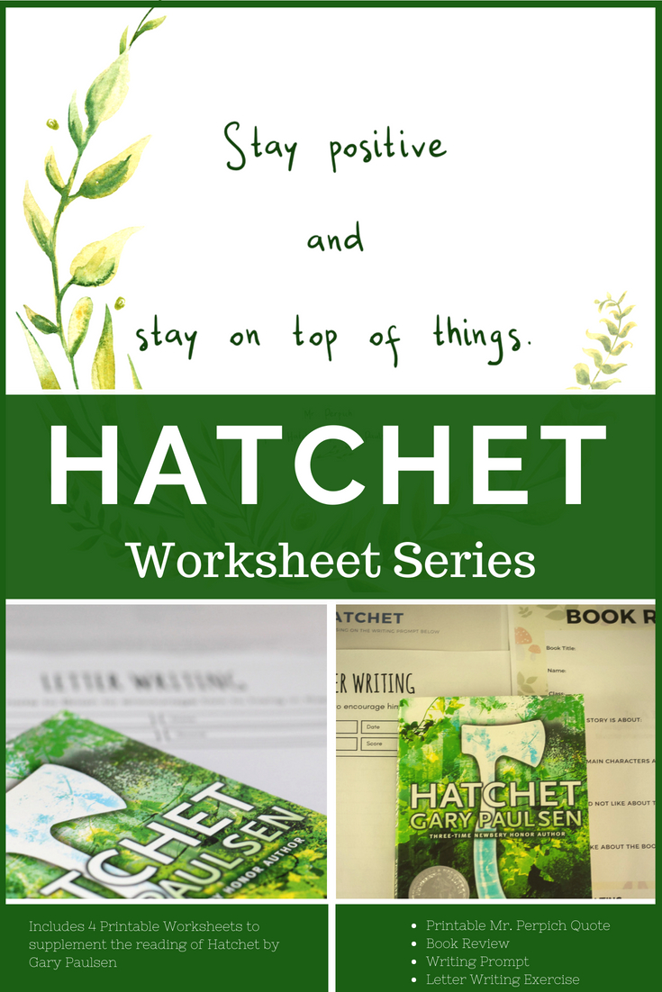 Hatchet Book Review And Worksheets - Geez, Gwen! | Hatchet Worksheets Printable