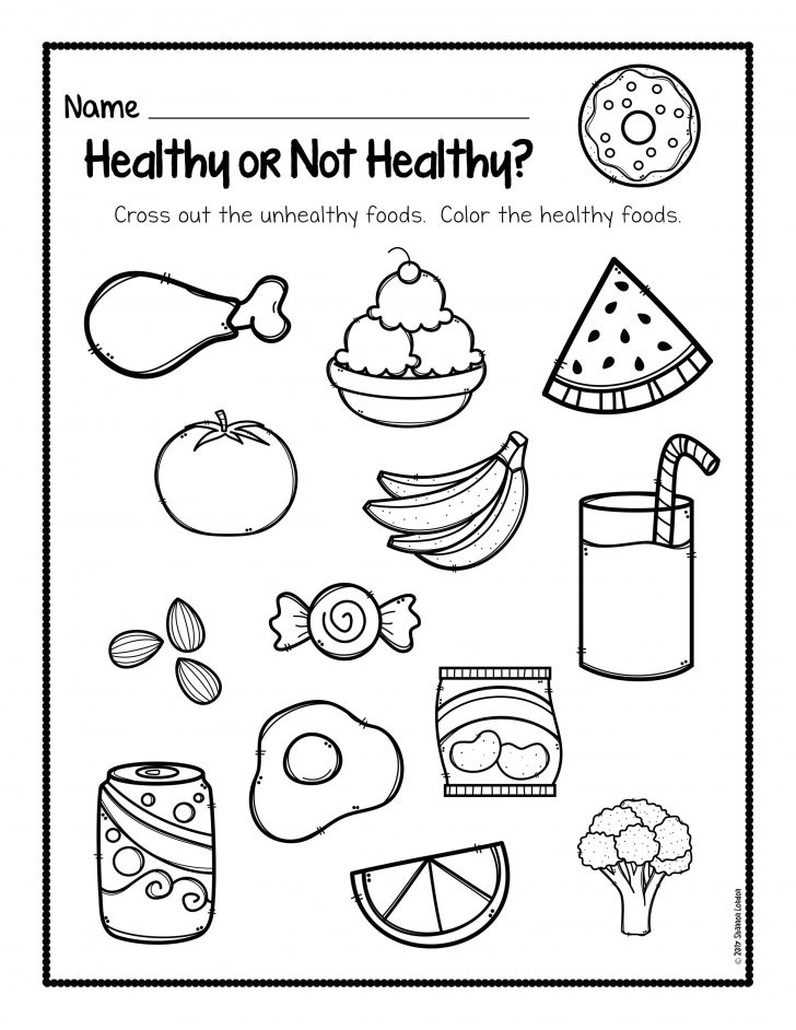 Free Printable Cooking Worksheets