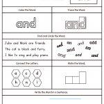 High Frequency Word And Printable Worksheet | Myteachingstation | Printable Worksheets Com
